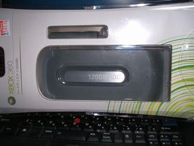 Xbox360 HDD120GB