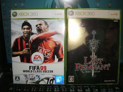 FIFA09 と ラストレムナント